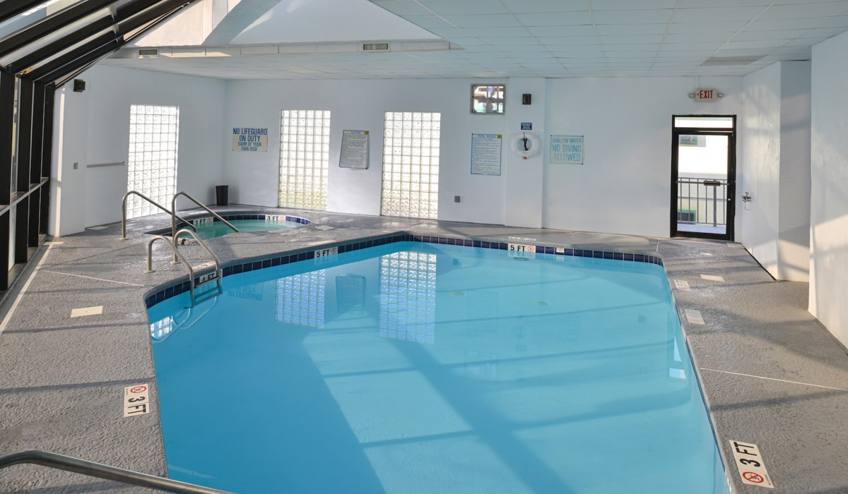 The Sea Horn Motel in Myrtle Beach - Indoor Pool