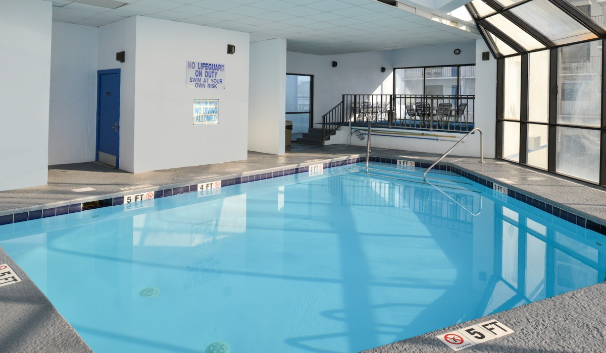 The Sea Horn Motel in Myrtle Beach - Relax in our indoor pool and spa