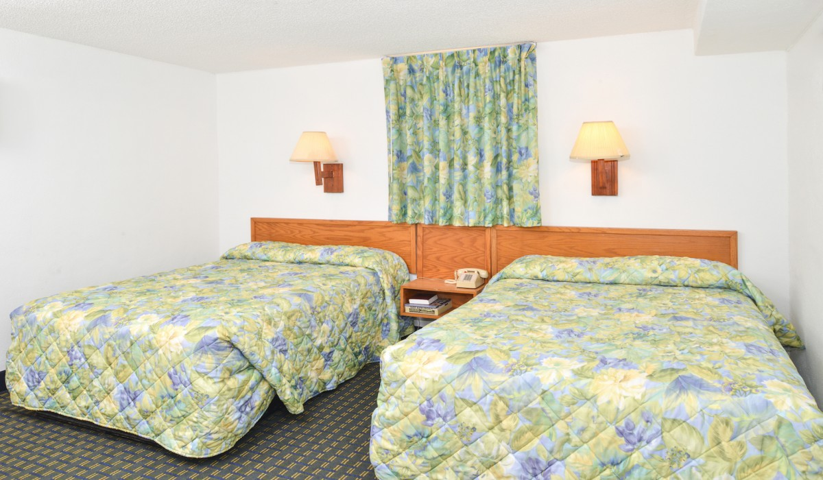 The Sea Horn Motel in Myrtle Beach - 2 Double Bed Room