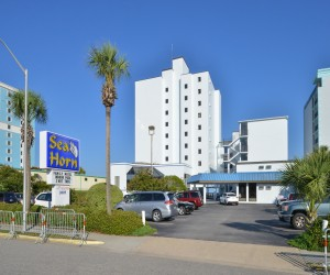 The Sea Horn Motel in Myrtle Beach - Limited Free Parking at Sea Horn Motel